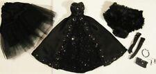 Beautiful OOAK silk gown & accessories by Deni's Dolls - Barbie, Fashion Royalty