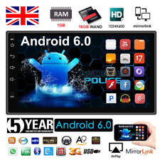 "Quad Core Android 6.0 3G WIFI 7"" Double 2DIN Car Radio Stereo MP5 Player GPS Nav"