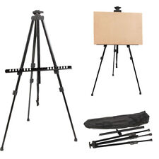 Artist Folding Painting Easel Adjustable Tripod Display Stand W/ Floor Metal Bag
