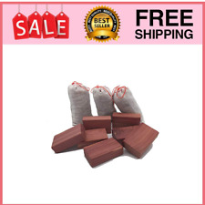 10 Red Cedar Blocks Hang Up Balls For Clothes Shoes Storage Garment Closet