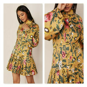 C/MEO COLLECTIVE | Womens Floral Print Dress [ Size XXS or AU 6 / US 2 ]