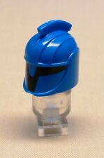 x1 NEW Lego Star Wars Senate Commando Minifig Helmet Hat Headgear For BLUE CLONE