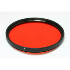 82mm M82 Full Orange Color Conversion Lens Filter Screw Mount fr DSLR SLR Camera
