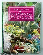 LIBRO COLLEZIONARE PIANTE GRASSE DeAGOSTINI EDITORE 121 PAGINE