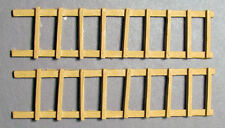 PIER LADDERS (2) O On30 Railroad Structure Unpainted One Piece Cast Resin FR1605