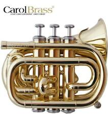 trumpet Carol Brass pocket  CPT 1000 L