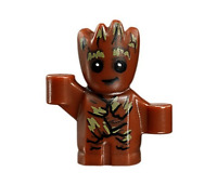 Lego Baby Groot 76081 Guardians of the Galaxy Super Heroes Minifigure