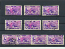 Viet Nam (South) #C10 1955 Airmail Phoenix Commemorative LOT OF TEN USED STAMPS