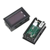 0-100V 10A LED DC Blue Red Dual Display-Digital Current And Voltage Meter Gauge