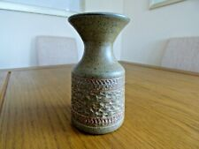 Purbeck Pottery Bournemouth. Vintage vase. 1970's