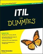 ITIL for Dummies by Peter Farenden (2012, Paperback)