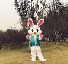Easter Mascot Costume Cartoon Lovely Rabbit Animal Fancy Party Dress Adults 2019