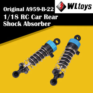 2pcs Rear Shock Absorber A959-B-22 for Wltoys 1/18 A959-B A969-B A979-B RC Car