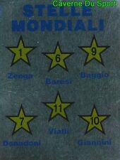 STELLE MONDIALI BARESI FIGURINE STICKER WORLD CUP VALLARDI MONDIALE ITALIA 90