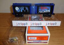 LIONEL 6-83257 BOBBING WEREWOLF BOXCAR TOY TRAIN CAR O GAUGE HALLOWEEN FULL MOON