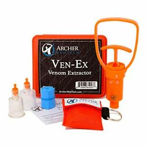 Ven Ex Snake Bite Kit Bee Sting Emergency First Aid Supplies Venom Extractor Suc