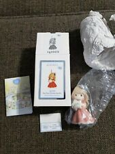 2014 Precious Moments May Your Holidays Sparkle Girl Ornament 141002 Very Nice