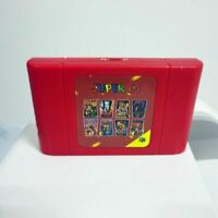 Nintendo N64 Video Game 340 in 1 Retro Super 64 Bit Game Card Console Cartridge