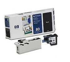ORIGINAL HP Cabezal de impresión Designjet 1050c 1055 CN/ C4820A nr. 80 Negro