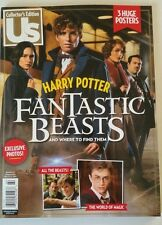 Us Collector'S Edition Harry Potter February 2017 Brand New Magazine 3 Posters