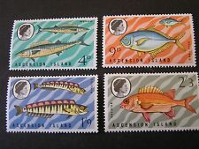ASCENSION IS. SCOTT # 130-133(4) 1970 LOCAL FISH ISSUE MNH
