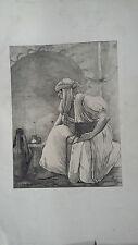 rare lithographie orientaliste louis auguste girardot 19ème
