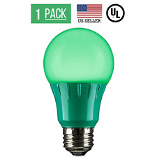 3W LED A15 COLORED LIGHT BULB, NON-DIMMABLE, E26 MEDIUM BASE, GREEN