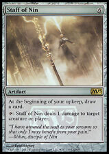 MTG STAFF OF NIN FOIL EXC - BASTONE DI NIN - PROMO - MAGIC
