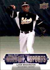 2011 Upper Deck World of Sports #9 LEVON WASHINGTON
