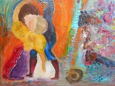 Original Oil Painting on canvas - PASSION