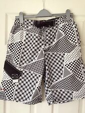 Mens - New Look Black/White Shorts - Size S