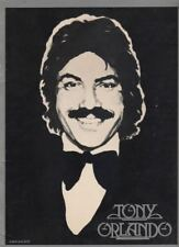 """Tony Orlando"" Souvenir Program 1978 Tour 65 Plus Photos"