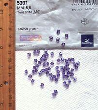 Swarovski® Crystal 5mm BICONE Beads Tanzanite 5301 24 Pc Best Price eBay