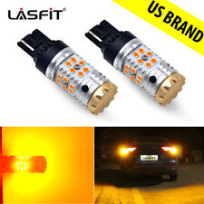 LASFIT Rear LED Turn Signal Light 7440 7440A 7441 Amber W/Canbus No Hyper Flash