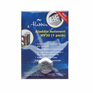 "Aladdin HV30 Chrome Radiator Vent Self Bleeding Auto Air Release Valve 1/2"" BSP"