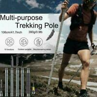 Multi-purpose Trekking Pole For Outdoor Camping Hiking Climbing B0L3 S1Q1