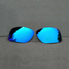 Polarized Ice Blue Mirrored Replacement Lenses for-Oakley Big Taco Sunglasses