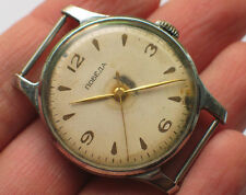 '1950s Vintage soviet POBEDA watch 15J Classic Creme dial USSR / CCCP