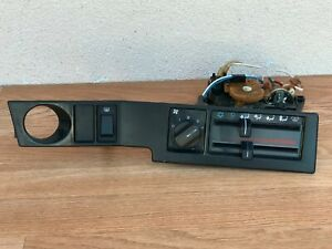 VOLVO 740  AC HEATER CLIMATE CONTROL SWITCH OEM (1985_1990)  1324560