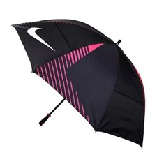 Nike GGA306 Strong Windproof Automatic Open Large Golf Umbrella Rose Red
