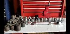 Chicago Pneumatic 3/4 Air Impact Wrench CP-9560 with a bunch of sockets