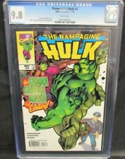 Rampaging Hulk #3 (1998) Green Cover CGC 9.8 White Pages Y630