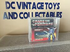 Vintage Hasbro 1985 Transformers G1 Tracks AFA 75/85/85 Factory Sealed