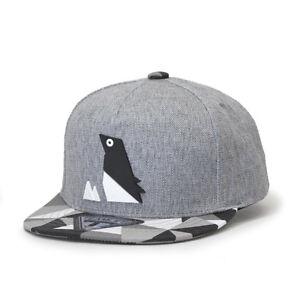 NEW Animal Origami Panda Penguin Kids Boys Girls Baseball Cap Black Gray Hat