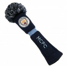 NEW 2017 MANCHESTER CITY FC GOLF, POMPOM DRIVER HEADCOVER.