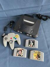 Nintendo 64 Konsole N64 mit 3 Spielen und 1 Controller