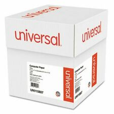 Universal Computer Paper, 9-1/2 x 11, Perforation, White, 2300 Sheets (UNV15807)