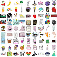 122style Cartoon Enamel Brooch Pin Collar Decor Badge Corsage Jewelry Women Gift