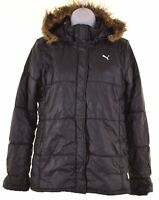 PUMA Girls Padded Jacket 15-16 Years Black  KS15