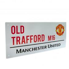 Manchester United FC Official Metal Old Trafford Street Sign